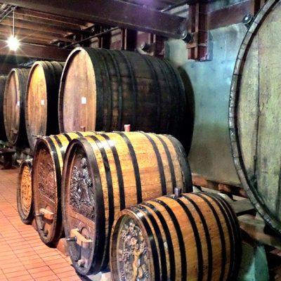 Beringer wine casks circa 1900