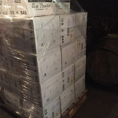 Bottles ready for shipment