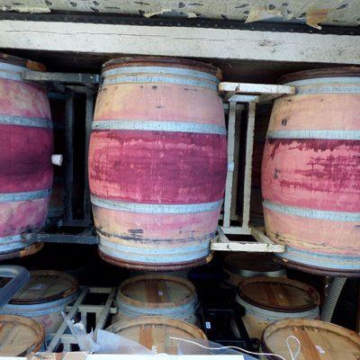 Pinot Noir barrels