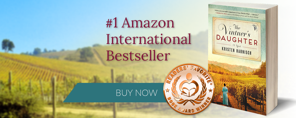 #1 Amazon International Bestseller Kristen Harnisch